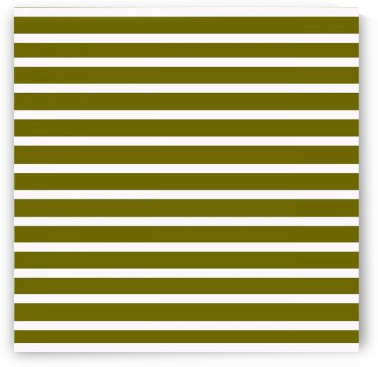 SEAWEED GREEN Stripes by rizu_designs