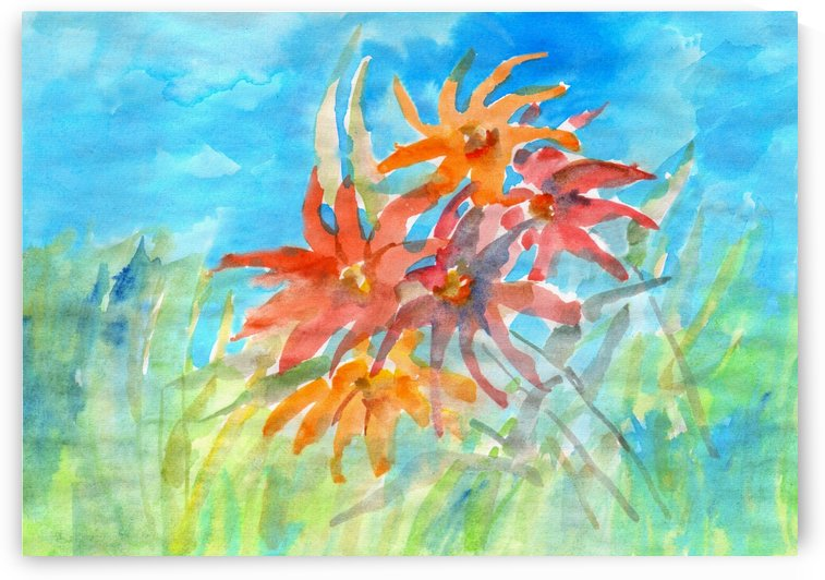 wildflower by Dobrotsvet Art