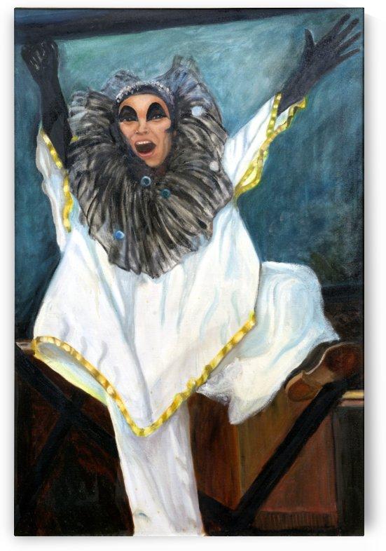 Opera Clown by Ellen Steele by Ellen Steele