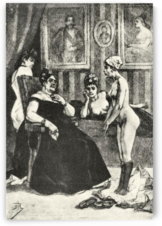 The examination by Felicien Rops by Felicien Rops