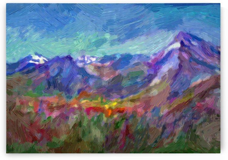 Alpin spring by Dobrotsvet Art