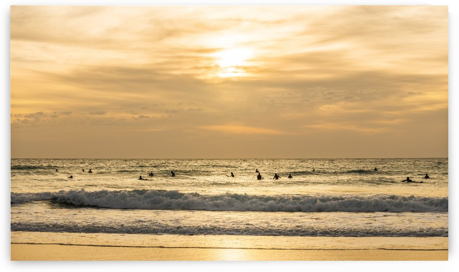GOLDEN SURFERS by ANDREW LEVER GALLERY