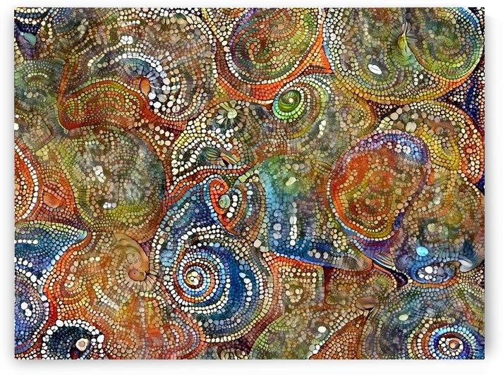 Mosaic Seashells by Bruce Rolff