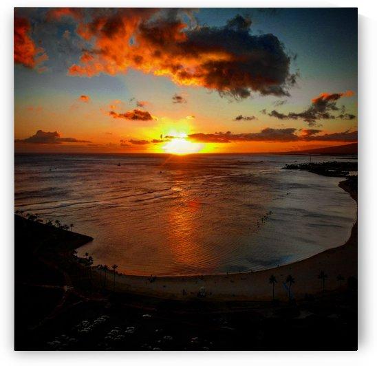 Magic Island Sunset by 808N4K