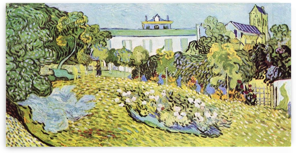 The garden of the Daubignys by Van Gogh by Van Gogh