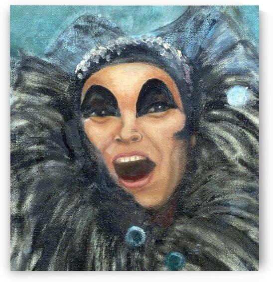 Clown Face by Ellen Steele