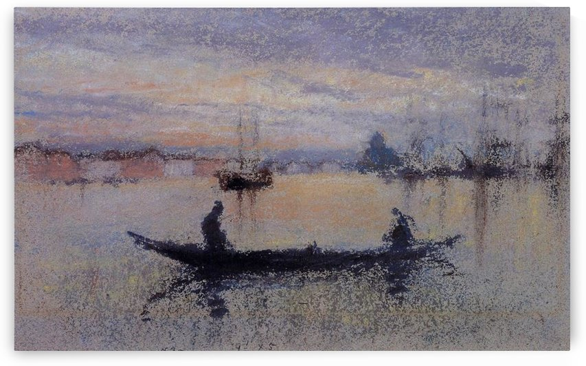 The Giudecca, note in flesh colour by Whistler by Whistler