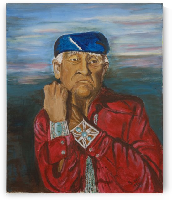 Old Indian by Ellen Steele by Ellen Steele