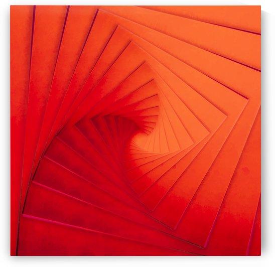 Composition Vermillon by Jon Woodhams