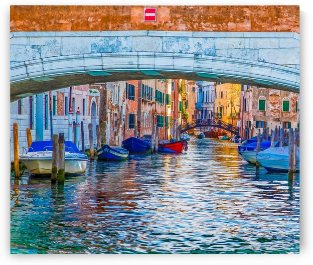 Afternoon Light in Venice Canal by Darryl Brooks