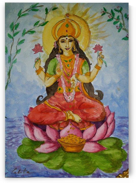 Godesse Lakshmi  by lalitavv