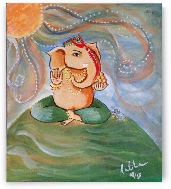 Ganesha deva by lalitavv