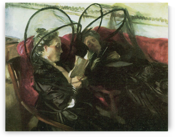 Mosquito nets by John Singer Sargent by John Singer Sargent