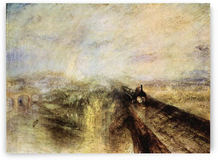 The great western railway by Joseph Mallord Turner by Joseph Mallord Turner