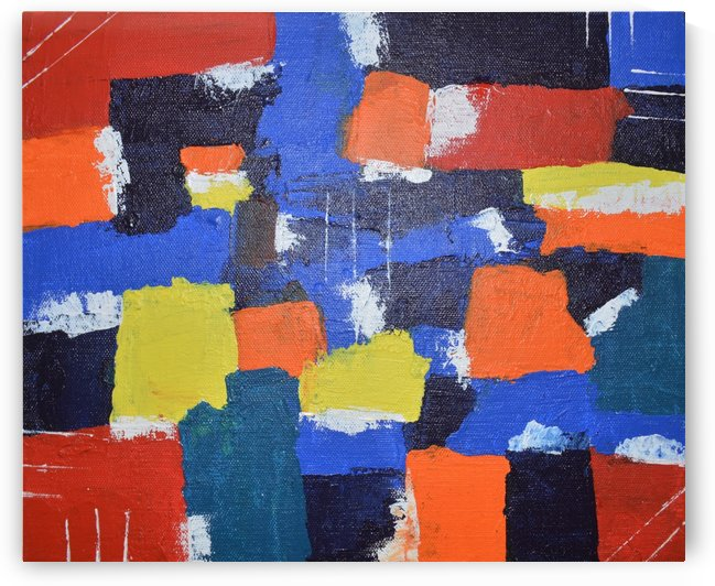 Abstract Painitng by Vinit Shah