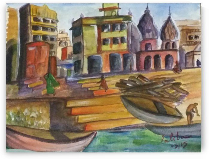 Manikarnika ghait varanasi by lalitavv