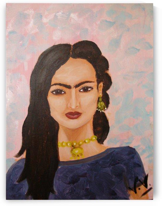 Portrait Friday Kalho by lalitavv