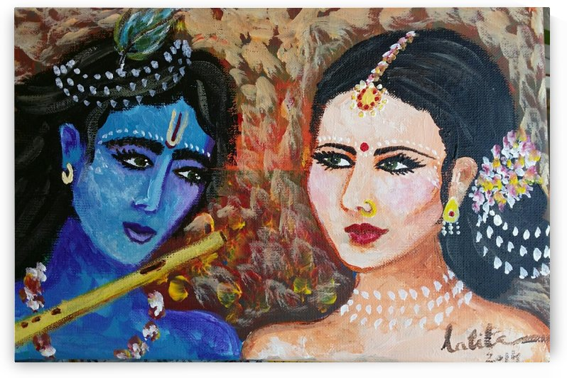 Raddha krishna by lalitavv