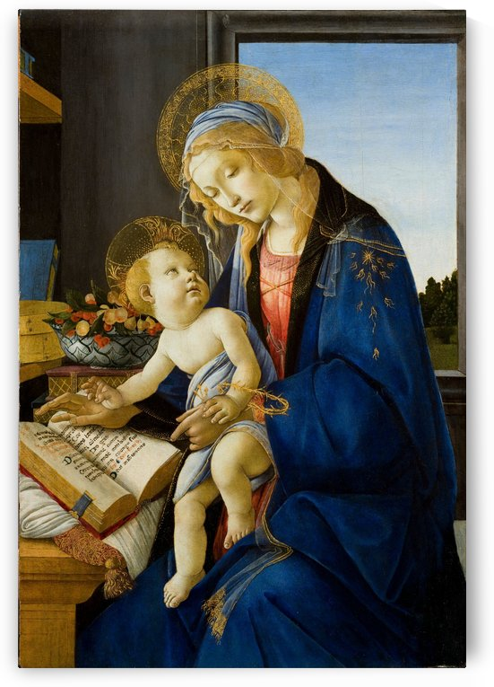 Madonna of the Book by Maestro_Joe