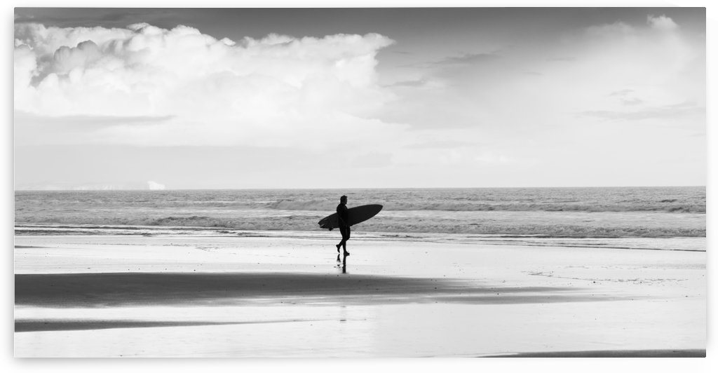 SURFER AFTER STORM by ANDREW LEVER GALLERY