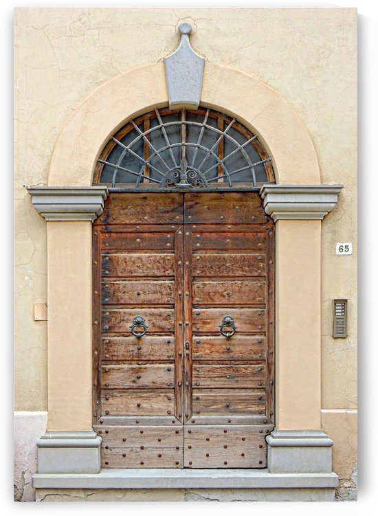 Old Wooden Door Tavernelle by Dorothy Berry-Lound