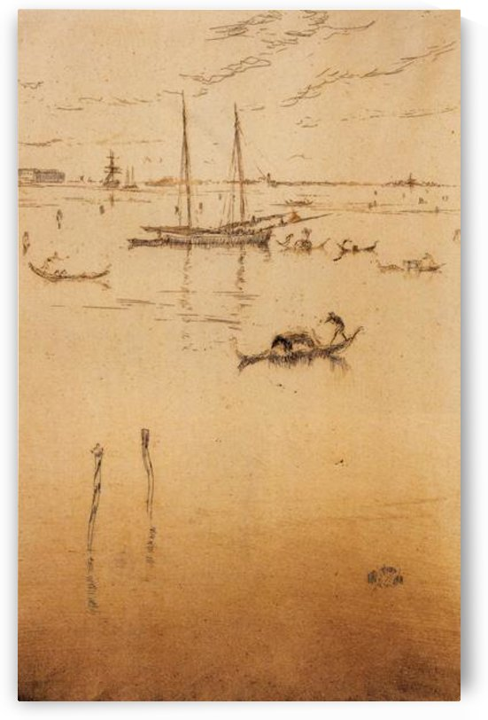 The little Lagoon by Whistler by Whistler