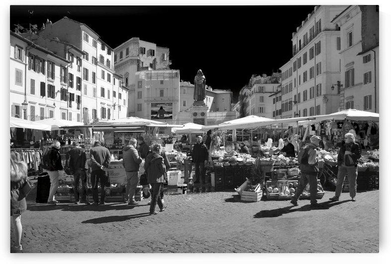 Rome - Campo De Fiori by Stefano Senise Photography