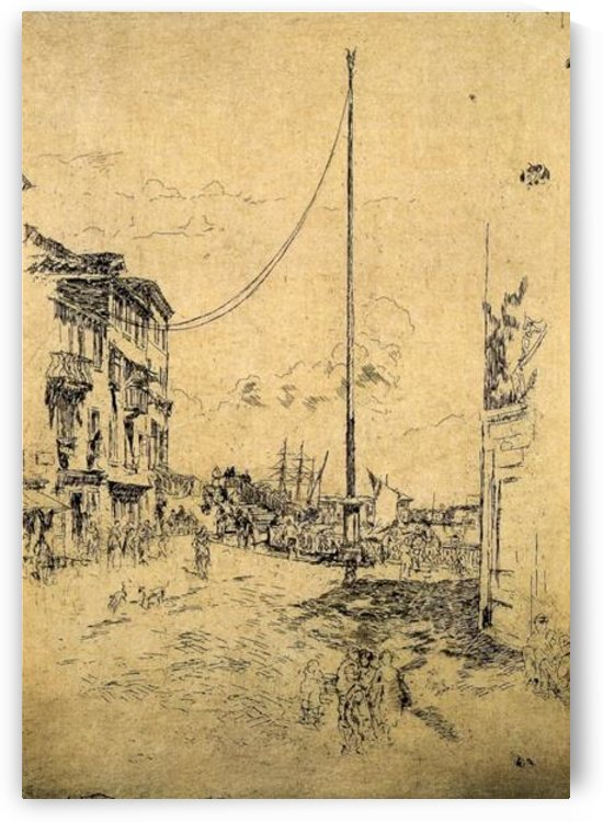 The little Mast by Whistler by Whistler