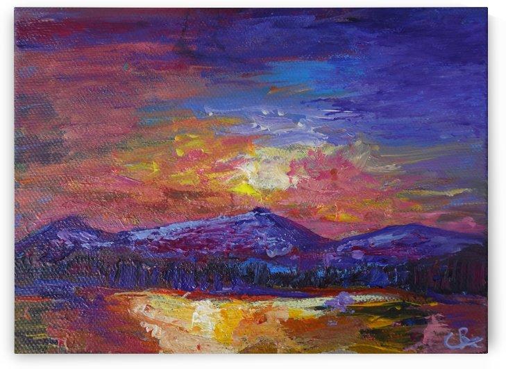Longs Peak Sunset by Chris Rutledge