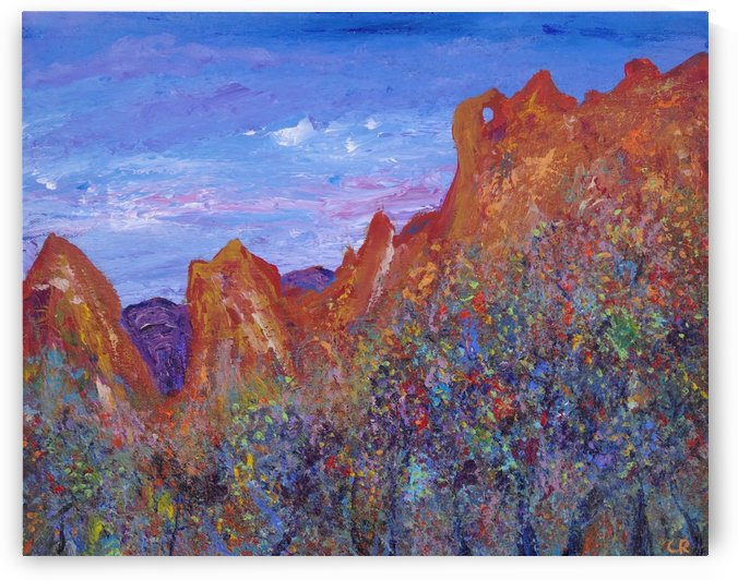 Garden of the Gods Colorado Springs by Chris Rutledge