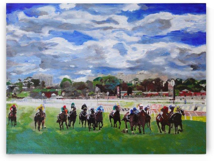 Flemington Horse Races Derby Day Melbourne Australia  by Chris Rutledge