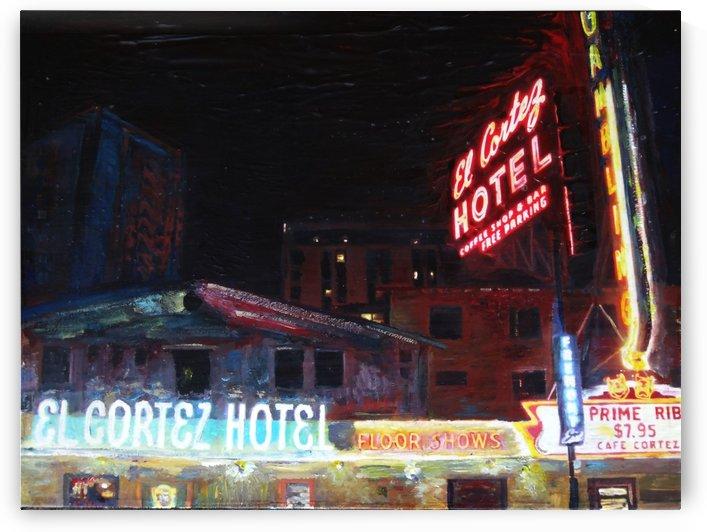 El Cortez Hotel Las Vegas by Chris Rutledge