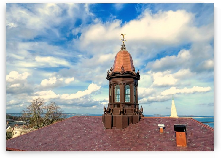 1820 Courthouse Cupola  by Photography by Janice Drew