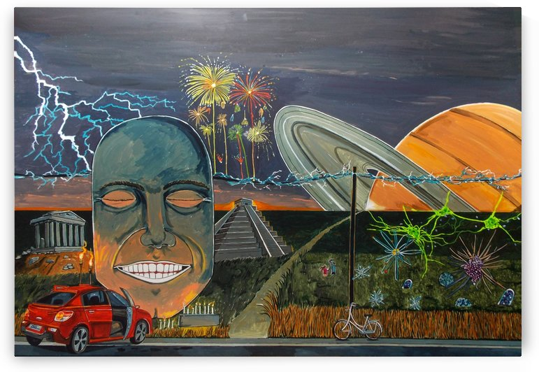 A notion of happiness by Lazaro Hurtado