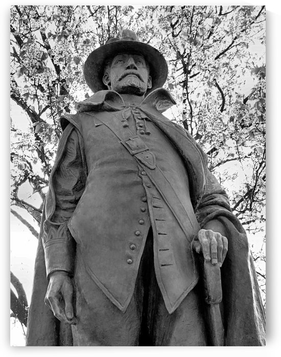 Governor William Bradford by Photography by Janice Drew
