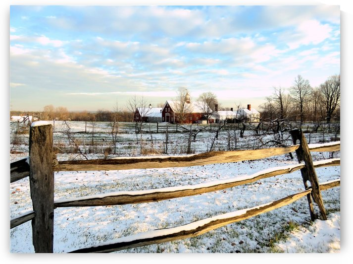 Winter on the farm by Photography by Janice Drew