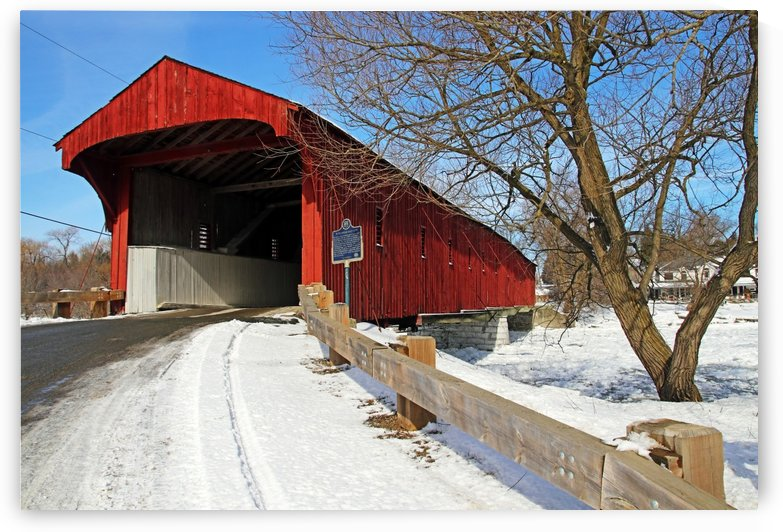 West Montrose Covered Bridge II by Deb Oppermann