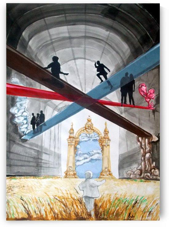 crossroads by Lazaro Hurtado