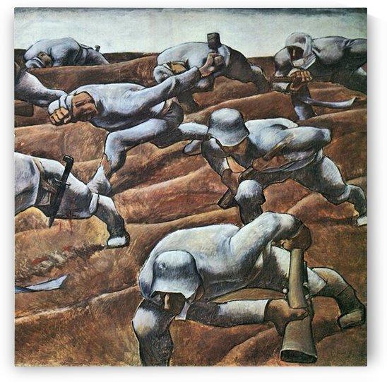 The Nameless 1915 by Albin Egger-Lienz by Albin Egger-Lienz