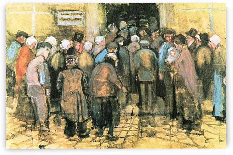 The National Lottery by Van Gogh by Van Gogh