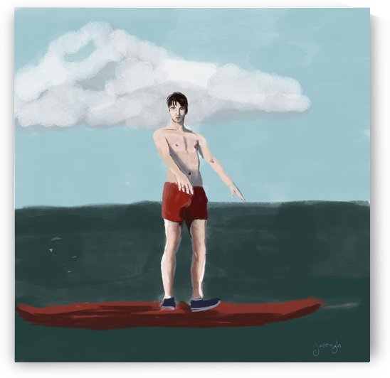 The Surfer by Eric Yarbrough