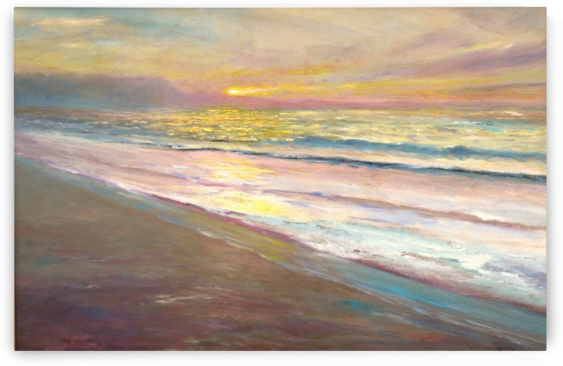 Pastel Morning Light  by Kenneth Evans