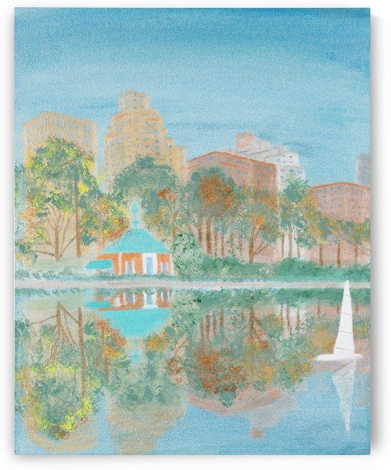 Along Fifth Avenue  2 by MJ Hoehn