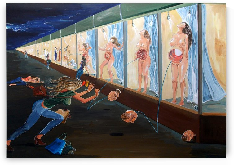 The shopping of longings by Lazaro Hurtado