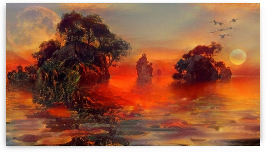 Mystic Islands by Bruce Rolff