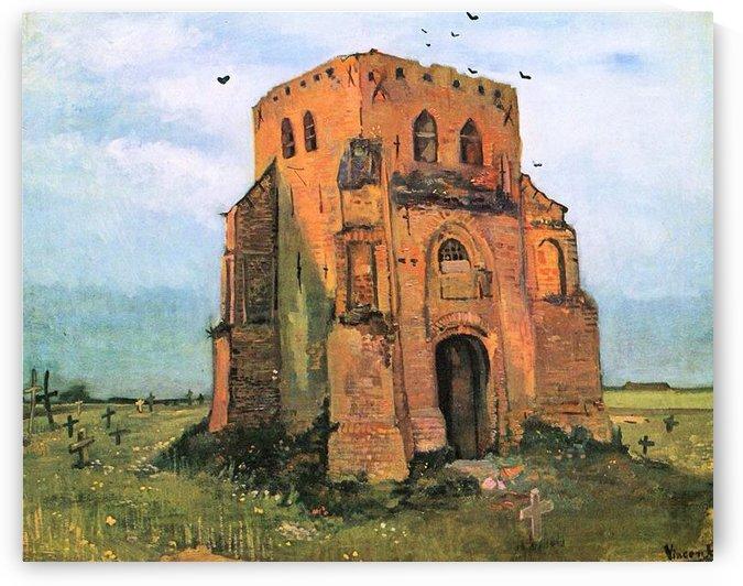 The old cemetery in Nuenen by Van Gogh by Van Gogh