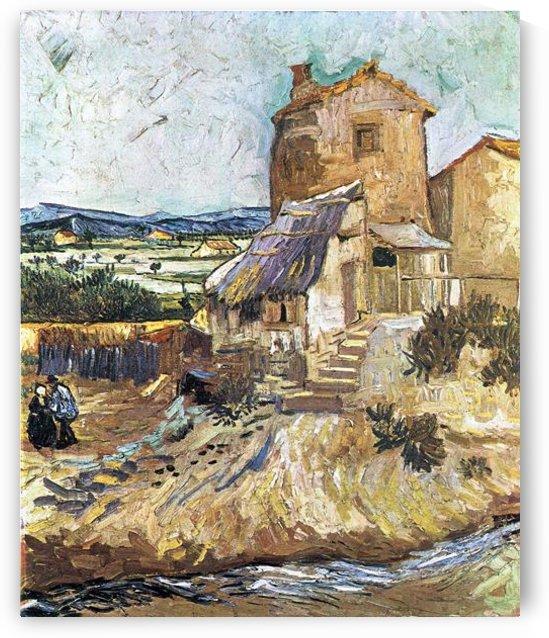 The old mill by Van Gogh by Van Gogh