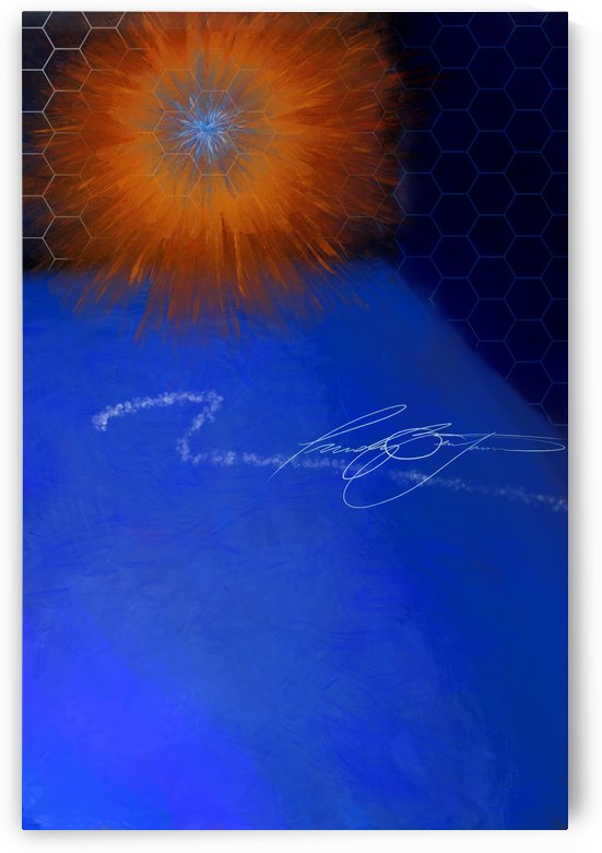 Manifest light by Afrocentric Painter