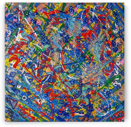 BLUE WORLD II by behzad masoumi