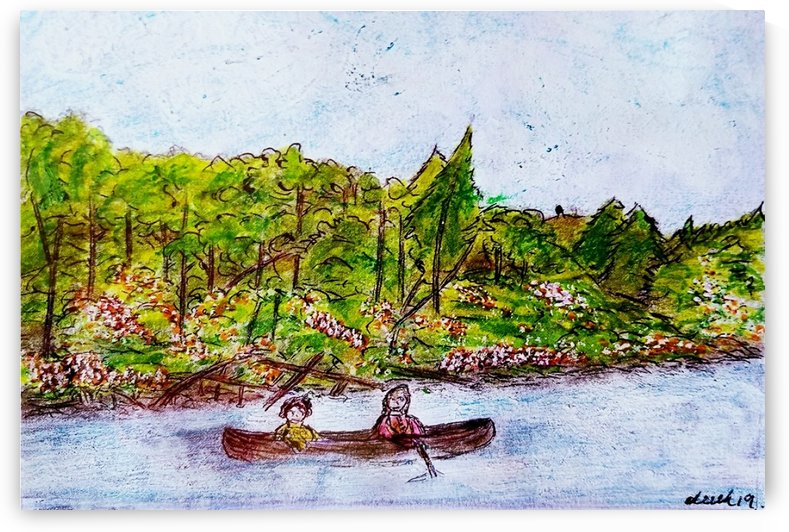 Canoe Cruise  by djjf